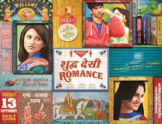Shuddh Desi Romance Poster
