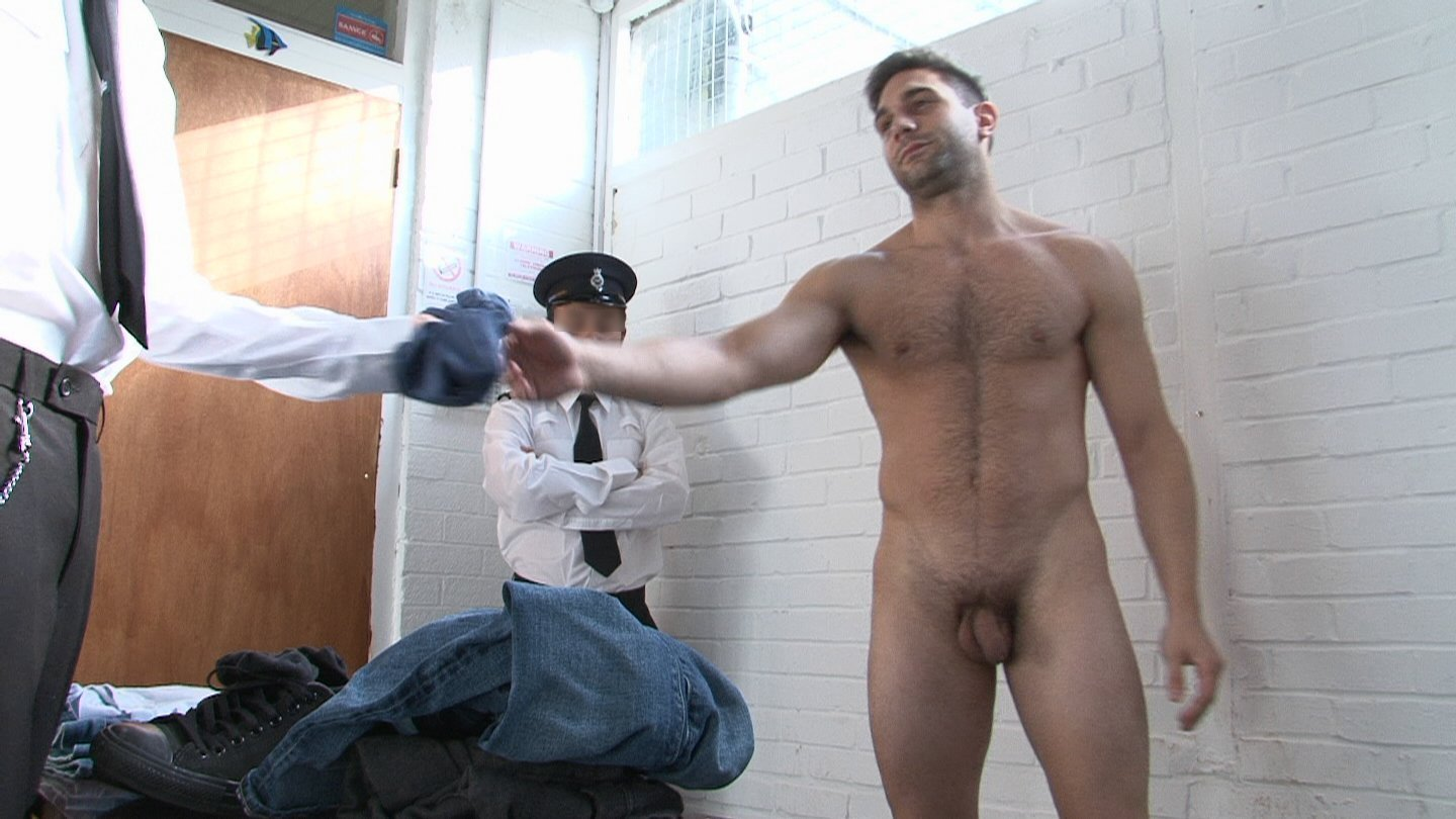 men stripping naked in lockerroom