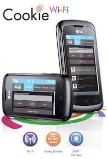 LG Cookie Wi-Fi - LG KM555E