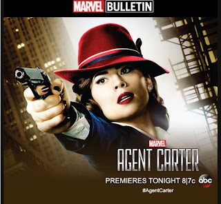 Marvel's Agent Carter premieres tonight on ABC