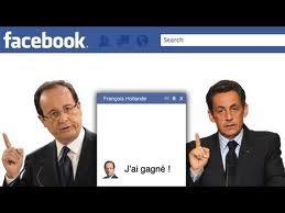 Sarkozy et Hollande tchatent sur Facebook
