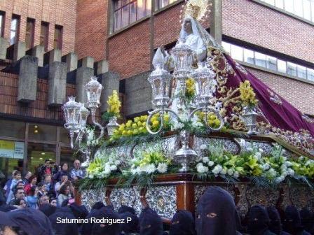 Virgen de las Lagrimas ANgustias y Soledad Leon