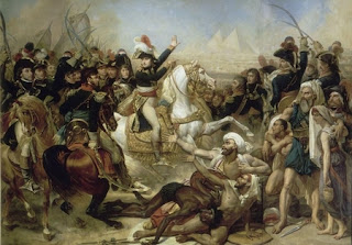 Painting: Napoleon at the Battle of the Pyramids