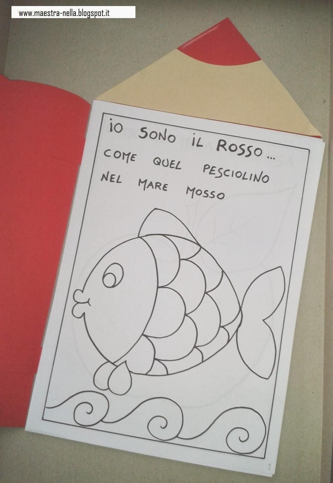 Estremamente maestra Nella: il colore ROSSO JS03