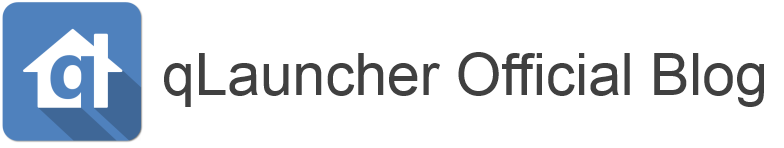 qLauncher Official Blog