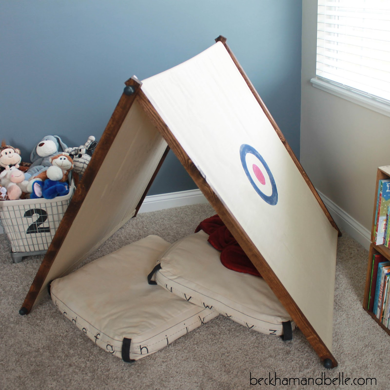 DIY Kids Playroom Tent, Less than $20!