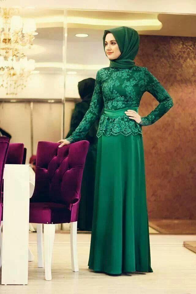 45 Gambar Model Kebaya Muslim Modern Dan Terbaru ~ Ayeey.com