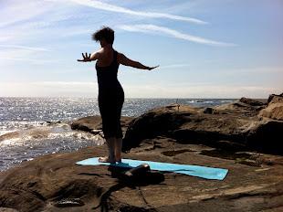 Yoga på Jomfruland