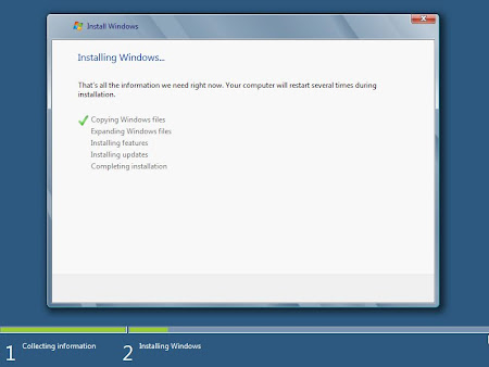 Proses Install Windows 8