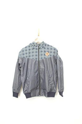 jaket batik minimalis, jaket batik, jaket
