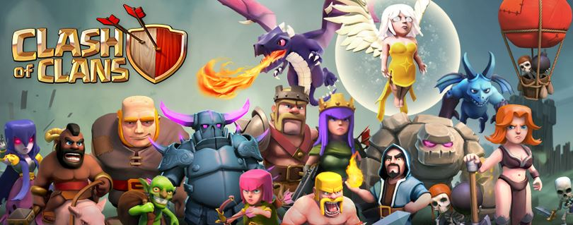Gambar Town Hall 8 Type Hybrid di Clash Of Clans