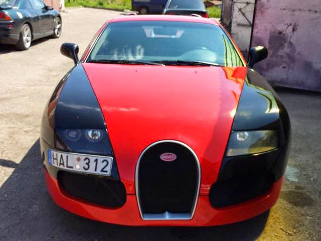 Lucu, Modifikasi Gagal pada Bugatti Veyron !
