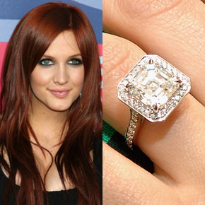 Ashlee Simpson Engagement Ring Price