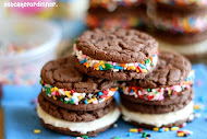 Homemade Birthday Cake OREOS