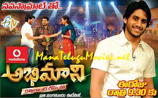 NagaChaitanya in Rajiv's Abhimani Show-26th Apr