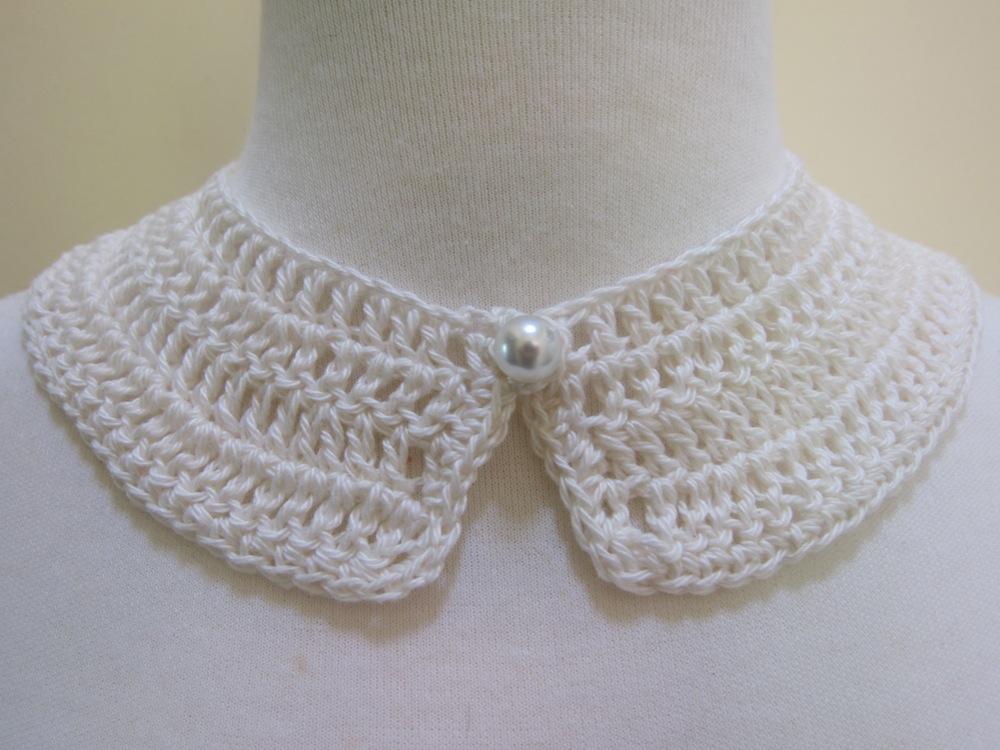 Mel P Designs Free Crochet Peter Pan Collar Pattern