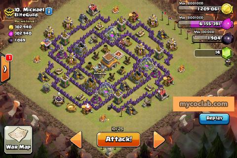 Th8 War Base  (mycoclab)