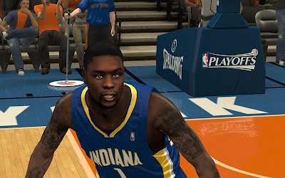 NBA 2K13 Lance Stephenson Pacers Playoffs Update