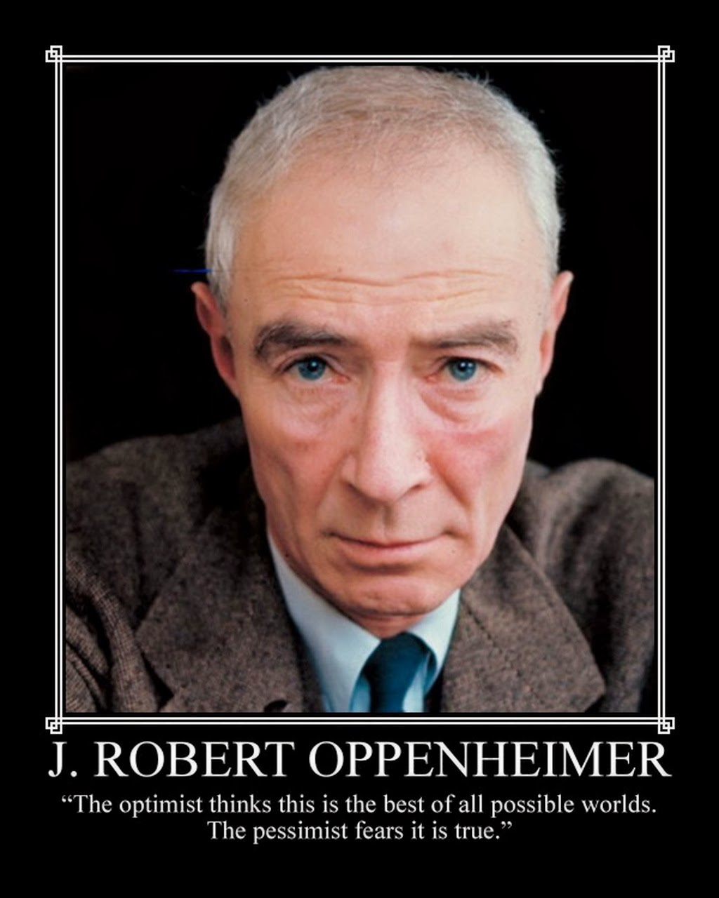 Oppenheimer Quote The Paper Thief
