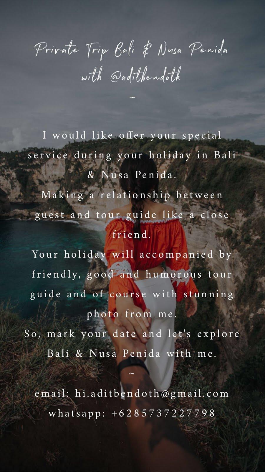 Private Trip To Bali
