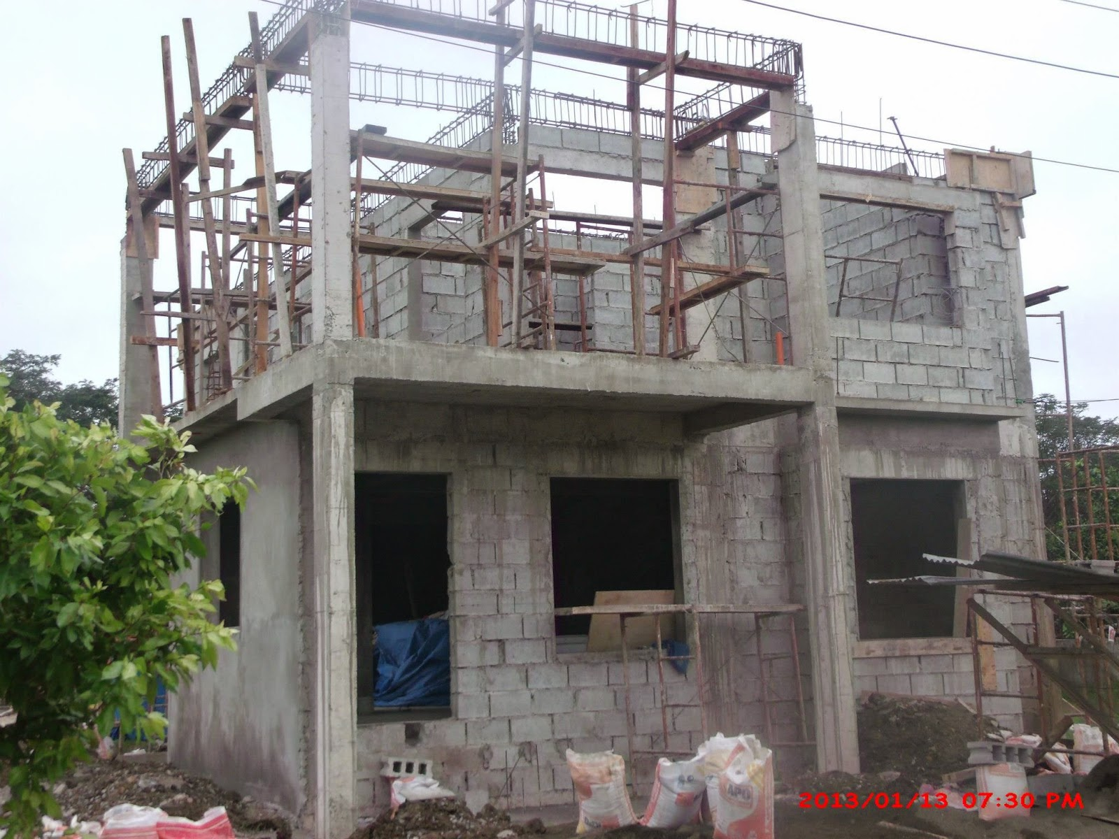 Modern contemporary house designs philippines iloilo simple 2 storey - Two Phase House Plans House Design Ideas