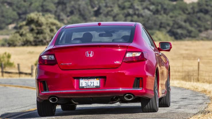 2014 Honda Accord EX-L Navi Coupe review notes