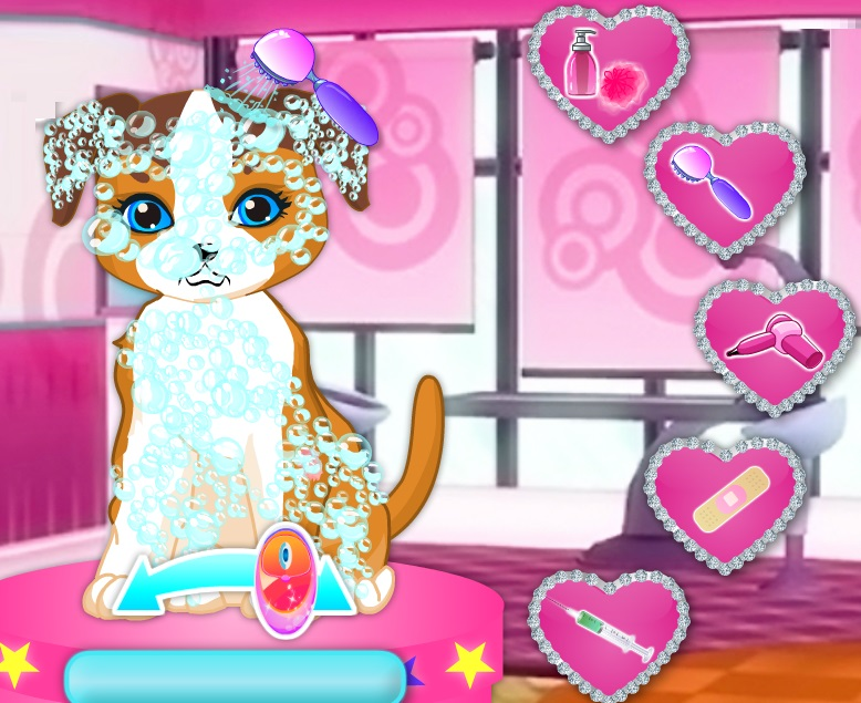 Free Kids Games It Is Time For Barbie Pets Fashion Show