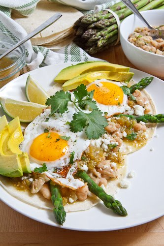 Asparagus Huevos Rancheros on Closet Cooking