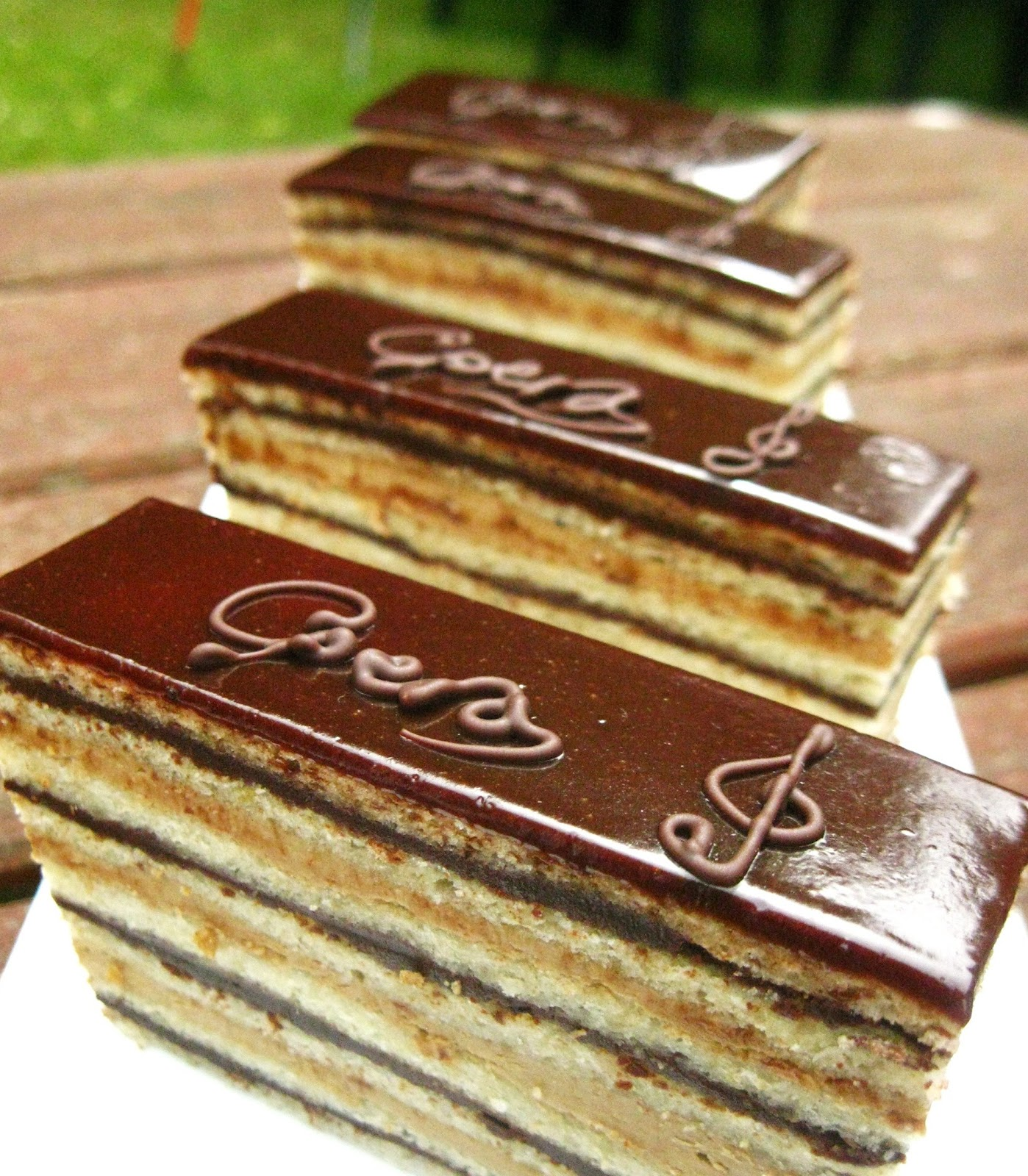 Gateau Opera Cake Recipe