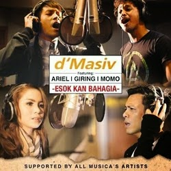 Download MP3 D'Masiv, Ariel, Giring, Momo ESOK KAN BAHAGIA