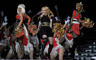 madonna Mia superbowl nicki