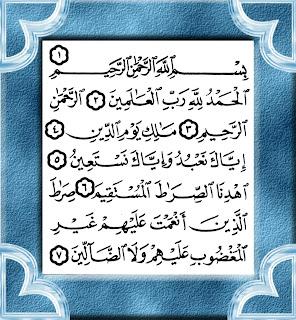 Bacaan Surat Al-Fatihah