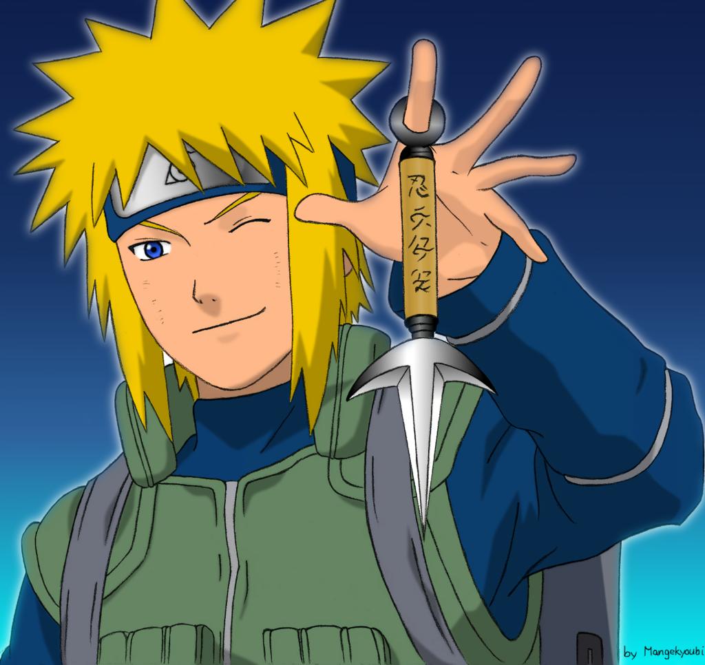 namikaze minato by mangekyoubi d3bnlvo Naruto Phần 2