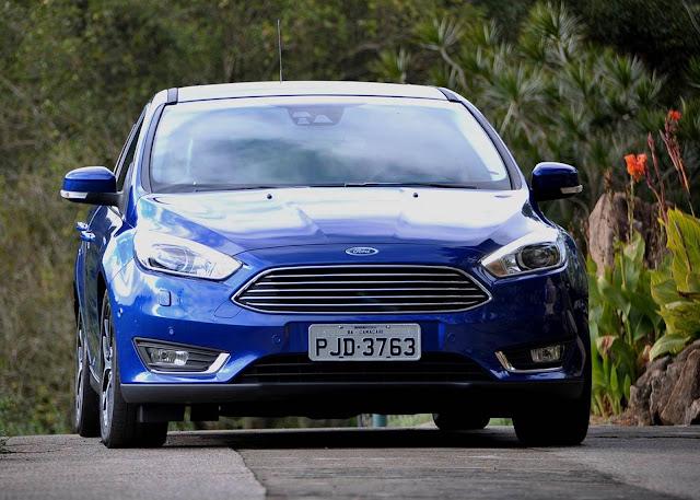 Novo Ford Focus 2016 - dados de desempenho e consumo