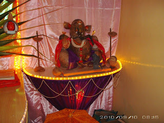 Eco-Friendly Ganesh: Eco friendly Decorations Ideas