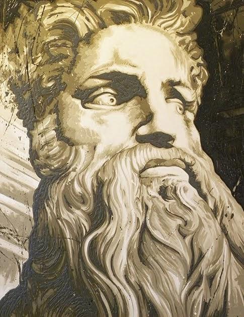 Dal Mosè di Michelangelo 100x130 2015  (venduto)
