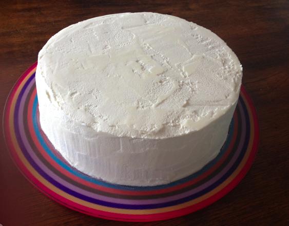 Genevacakes Cake Design Et Autres Le Grand Test Rainbow Cake