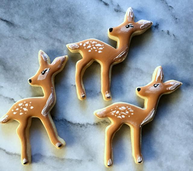 heidis mix baby deer cookies