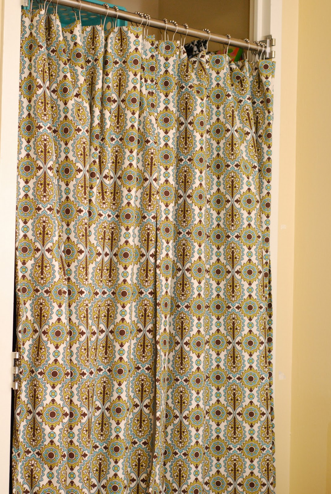 Closet Curtain For Dorms Without Doors