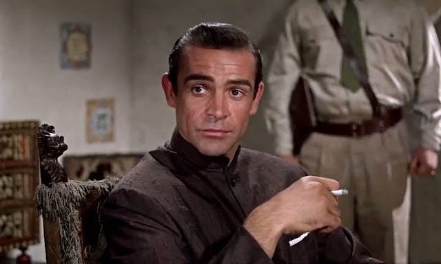 Screen Shot Of Dr. No (1962) Dual Audio Movie 300MB small Size PC Movie