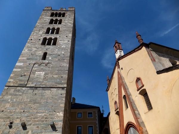 Aoste Aosta Italie sant'orso église campanile
