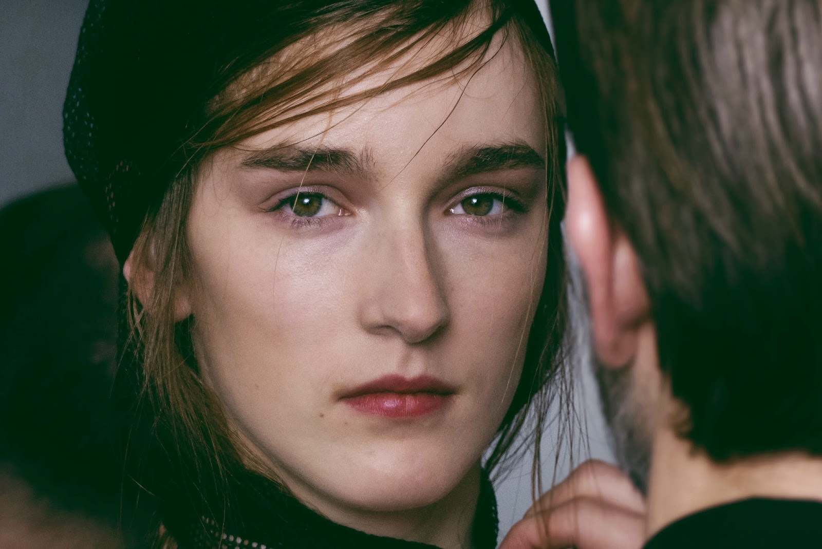 LOOK ODEEH FALL-WINTER 2014 BACKSTAGE PARIS FASHION WEEK READY-TO-WEAR