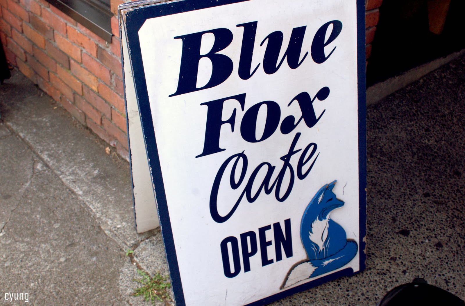 Blue Fox Cafe Victoria Hours
