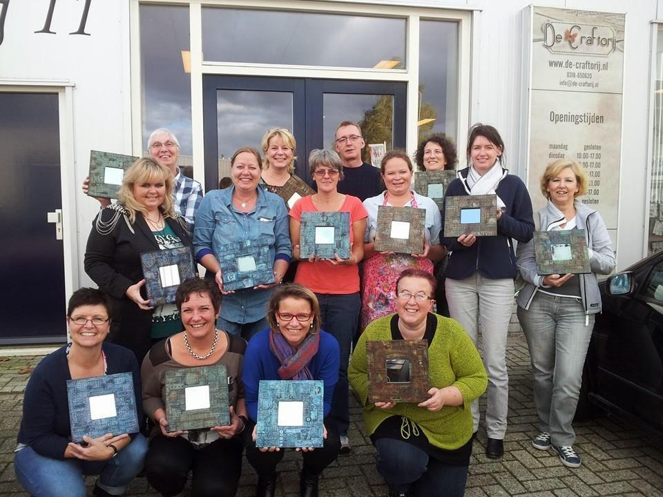 Gerrina 39 s creatieve wereld workshops van andy skinner bij de craftorij - Spiegel rivoli huis van de wereld ...