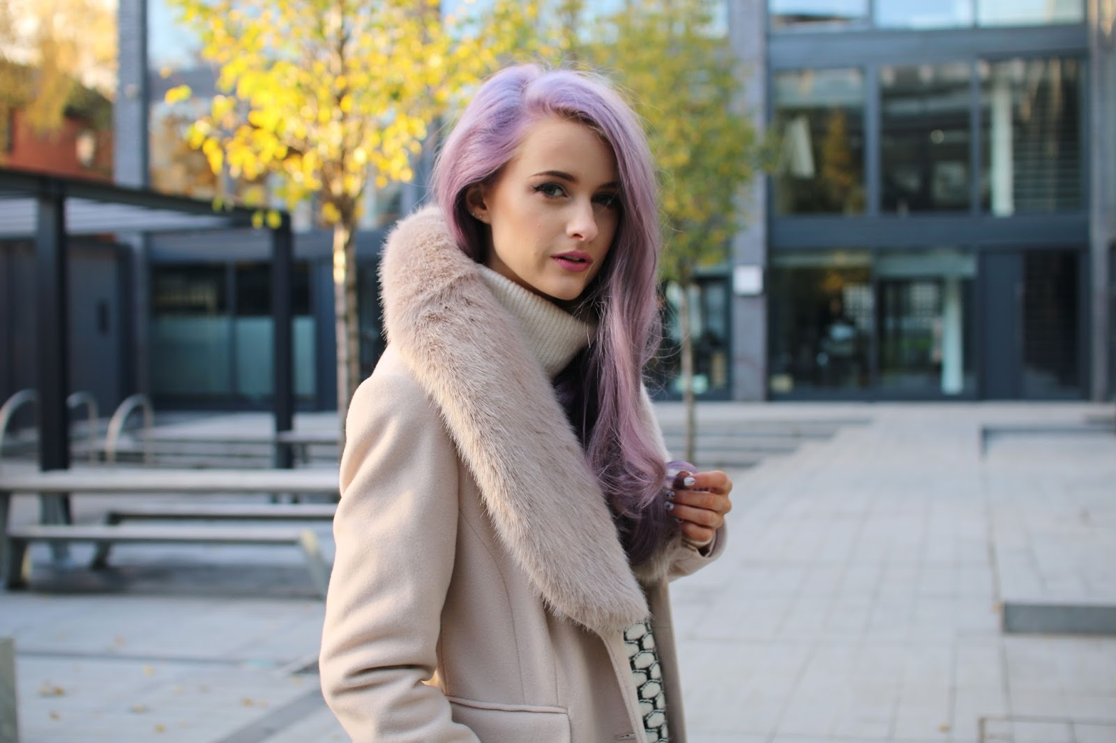 faux fur collar coat marks and spencer
