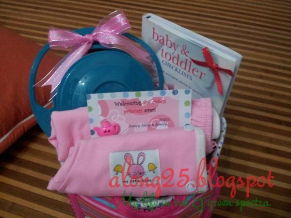 blog along25 diapers cake murah comel baby girl sweet pink