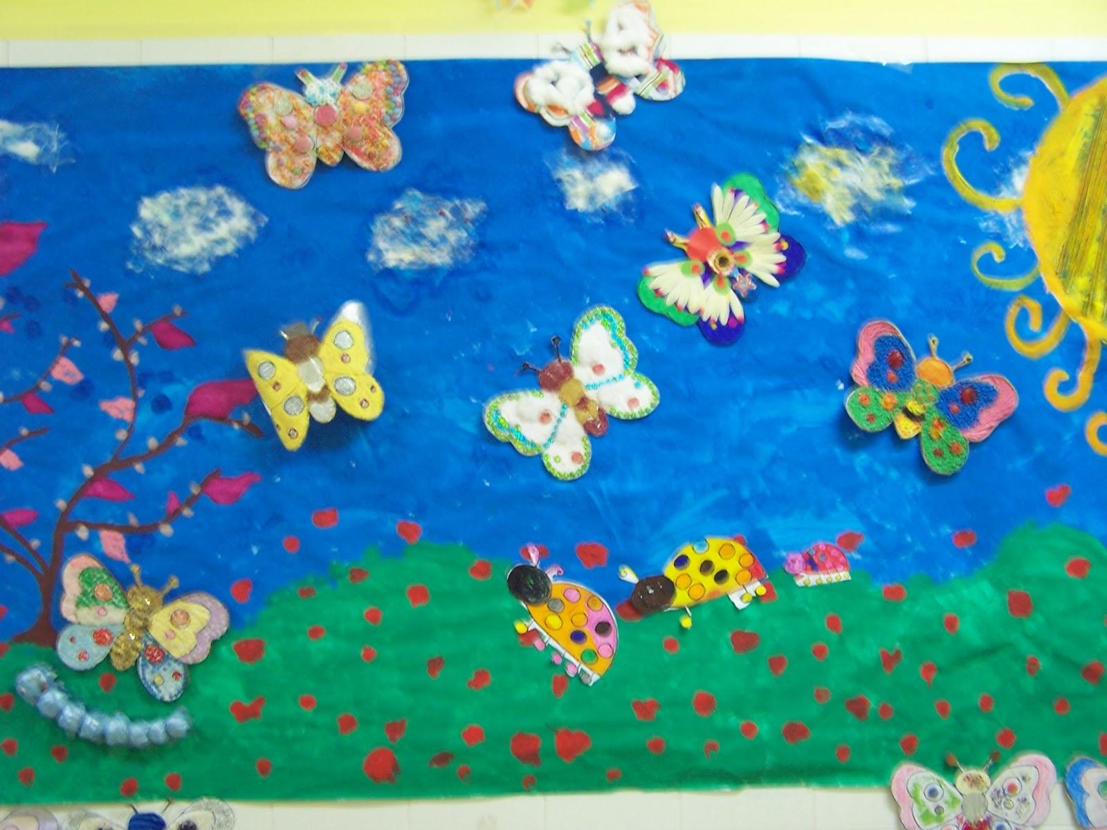 Infantil p rez gald s lleg la primavera al p rez gald s for Decoracion primavera infantil