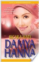 Gambar Cover Novel Bicara Hati Penulis Damya Hanna
