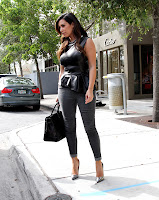 Kim Kardashian casual outfit