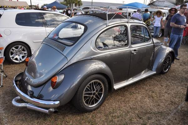 1974 Custom VW Beetle Ragtop Porsche Powered